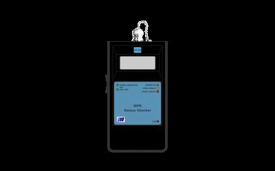 NID-1200 IEPE Sensor Checker  XXXXXX XXXXXXX